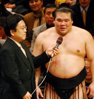 06初 千秋楽三役以降 001栃東優勝インタビュー